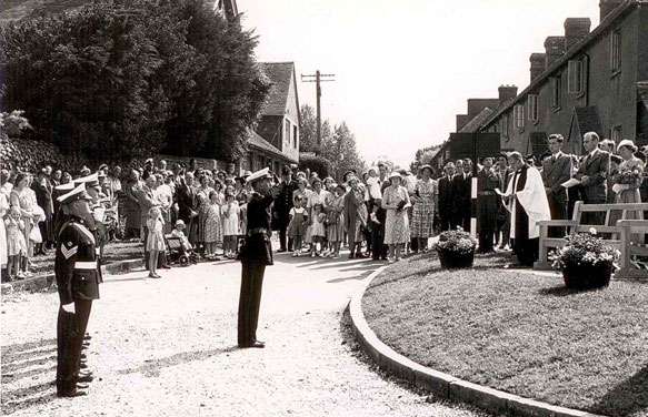 Itchenor Flotilla Ceremony 1951